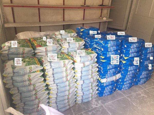 Adana'da 22 ton sahte deterjan ele geçirildi