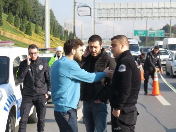 Ataşehir'de yol kavgası: 1 yaralı