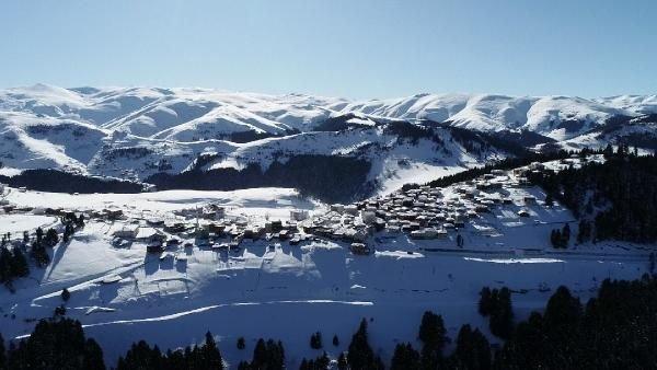 Kümbet Yaylası'nda kış güzelliği -3