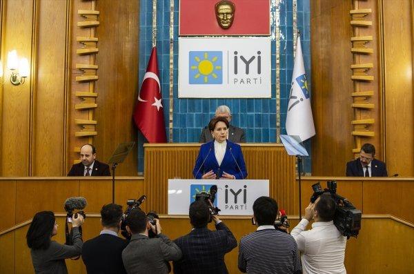 Meral Akşener, hedefine Erdoğan'ı aldı